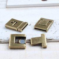 Aiden bracelet brons lock